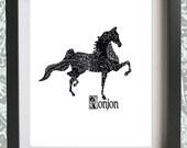 Smooth Operator - Saddlebred - Custom Horse Portrait
