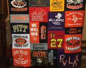 Custom Puzzle T Shirt Quilt for Sheri W. - Final Payment