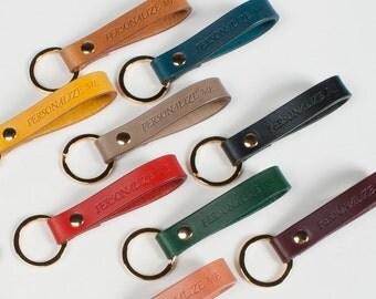Personalized keychain monogram custom key chain personalize custom key fob custom key holder custom key ring