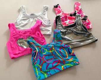 Size 7 girls....Leo Top Lot Clear Out Sale.......Made and Ready to be Shipped!!