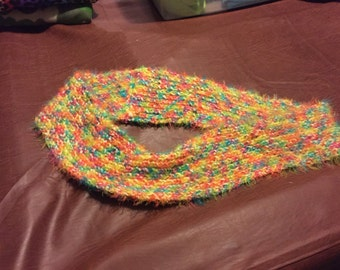Rainbow Supersoft Infinity Scarf