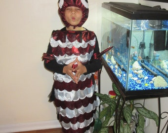 Shiny Fish Costume