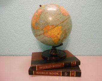 Cram's Universal World Terrestrial globe, Vintage globe, World globe, Collectible globe, Antique world globe