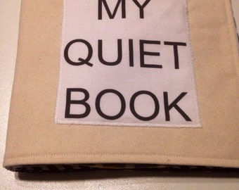 Baby/Toddler/Preschooler Cloth Quiet Book