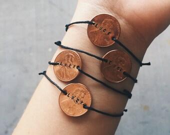 Bulk Orders - Cheap Luck Penny Bracelets