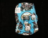 Sugar Skulls One Size All In One (AIO), All In Two, or Pocket Cloth Diaper
