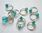 Cosmic / Stitch Markers - Snag Free Knitting Stitch Markers - Small Medium Large Sizes Available