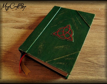 Charmed Book of Shadows with ORIGINAL parchment pages - MEDIUM size 8,66x6,29 inch