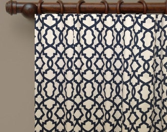 geometric curtains sale from small window curtains through 2 story extra long drapes choose your length