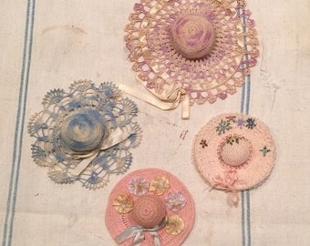 Four Vintage pincushions. Price is for all four