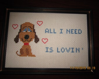 All I Need is Love Doggie Sampler