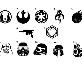 Star Wars Vinyl Decals