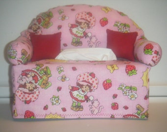 Strawberry Shortcake   Tissue Box Couch Cover
