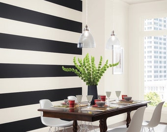 Wall Stripes Decals Removable Bedroom Stripes Vinyl For Walls, Removable Stripes, kids Bedroom Stripe Decals, Custom Stripes for Walls, a47