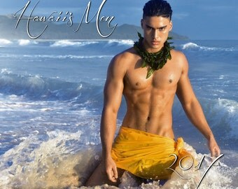 2017 Hawaii's Men Calendar