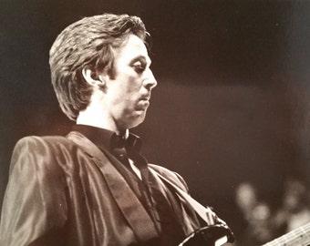 ERIC CLAPTON 1983 Original Photo - at Forum concert for ms