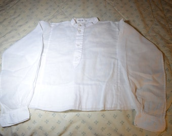 Vintage White Blouse for a Young Girl
