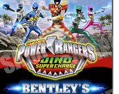 Power Ranger Invitation, Power Ranger Birthday,Dino Super Charge Birthday Invitation,Power Ranger Dino Super Charge Party,Birthday Party