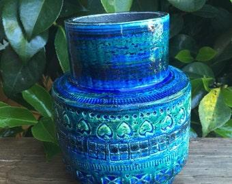 Rimini Blue Bitossi Vase