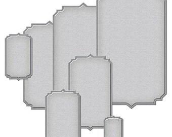 Spellbinders - Nestabilities - Art Deco - Astoria Labels