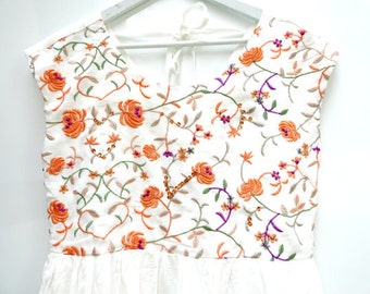 Summer dresses for women, Embroidered dress, Sequins dresses, Beaded dress, Floral dress, Sequin dress, Party dress, flower girl dress