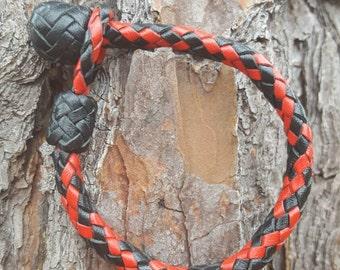 8-string Viper, Kangaroo Leather Bracelet