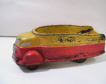Antique Sun Rubber Co. Future Truck Hard Rubber Truck Toy