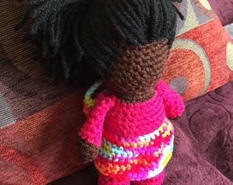 Crochet faceless Doll