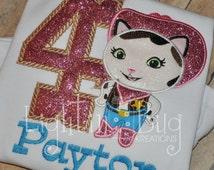 Sheriff Callie birthday shirt birthday