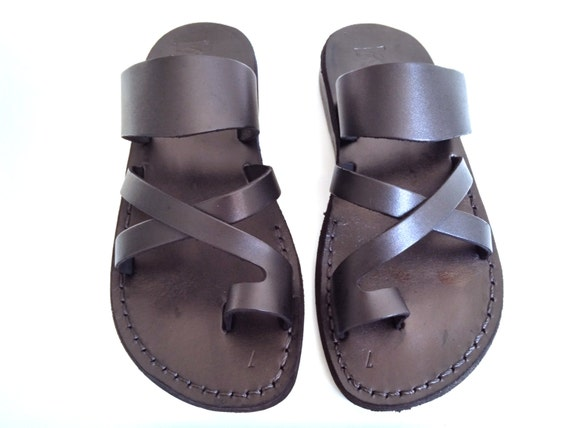 Original San Malo Womens Ladies Leather Open Toe Buckle Summer Jesus Sandals Navy Blue | EBay