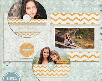 ON SALE INSTANT Download - Cd/Dvd Labels and cover templates
