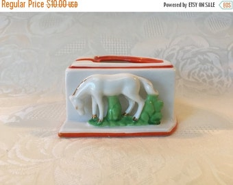 On Sale Horse Ashtray Made In Japan Tobacciana Collectible Ashtray Horse Figurine Trinket Dish