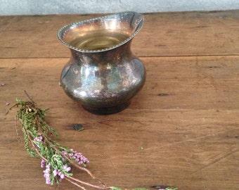 Silver antique vase