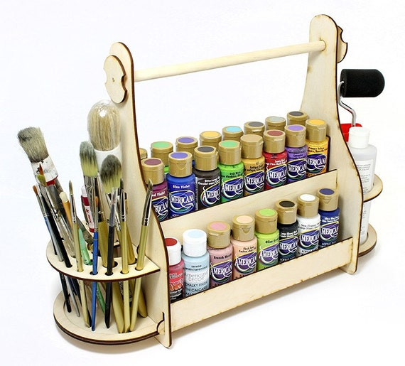 Craft Paint Storage Rack