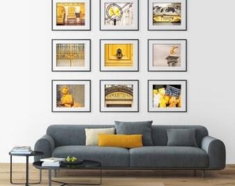 Set of ANY Nine Photography Prints - Paris photography collection,Art,Large Wall Art,Paris art,Shabby chic,Fine art photography,Paris decor,