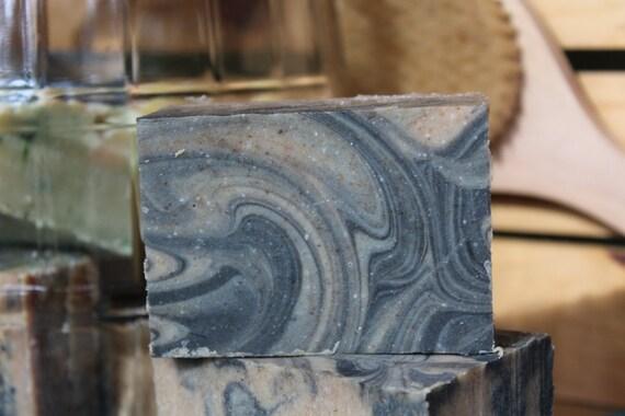 Patchouli & Frankincense Organic Lard Soap 5.3 ozs