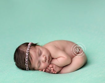 Newborn Photography Fabric Backdrop - Melanie Knit Backdrop -  2 Yards - Photography Backdrop, Posing Fabric, Newborn Prop