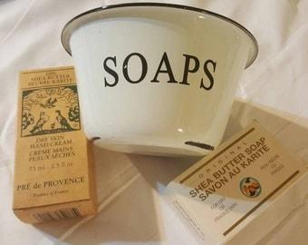 SOAPS tin dish
