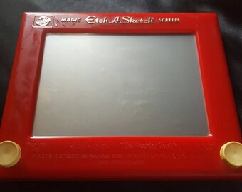 Etch a Sketch, Ohio Art, World of Toys, vintage toys, FREE Shipping