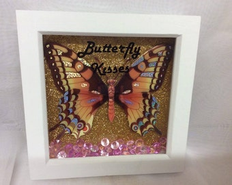 Butterfly  Frames with Butterfly Kisses
