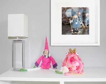 Girl nursery decor/girls Room Decor/christmas Wall Art, Photo Print, girls Room Decor/large Art, personalized gift art home decor, soft grey