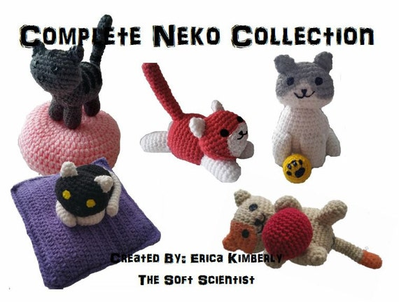 Neko Atsume Crochet Pattern Amigurumi PDF Complete Guide for