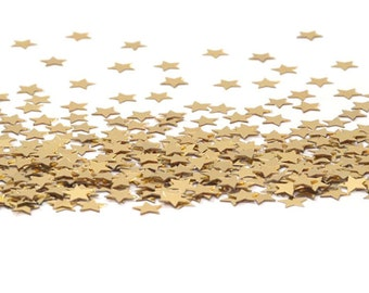 Gold Stars Confetti 11mm 14 grams - Party Supplies