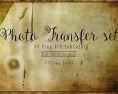 Transfer Textures - Fine Art Textures, Photoshop Textures