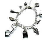 Harry Potter Inspired Charm Bracelet Handmade Gift