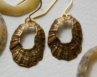 Medium Limpet Drop Earrings