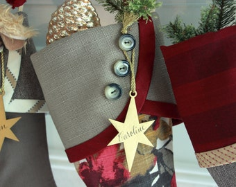 "Shop ""Personalized Christmas Stocking"" in Paper & Party Supplies"