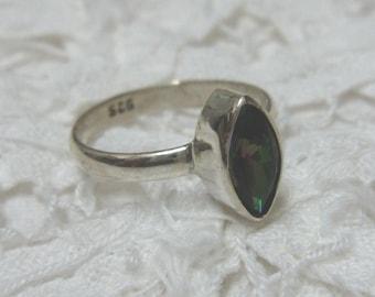 Mystic Topaz Ring Size 6