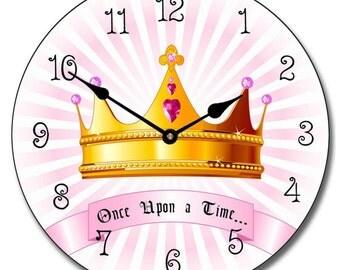 Princess Crown Wall Clock