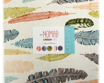 Nomad Layer Cake by Urban Chiks for Moda: Unopened, Still in Original Packaging